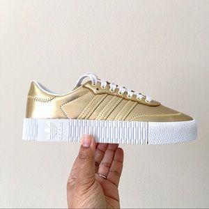 Adidas Sambarose Gold Metallic